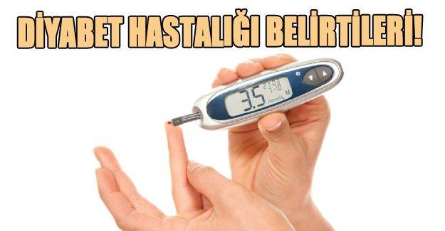 Diyabet hastalığı belirtileri