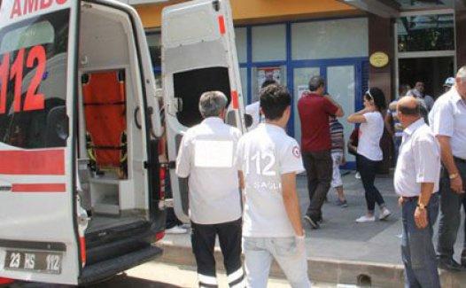 Elazığ'da Otelde patlama