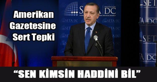 Erdoğan'dan Amerikan medyasına eleştiri