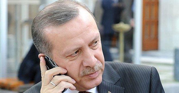 Erdoğan Putin'i aradı