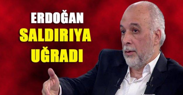 Erdoğan saldırıya uğradı!
