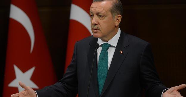 Erdoğan teröristlere ateş püskürdü