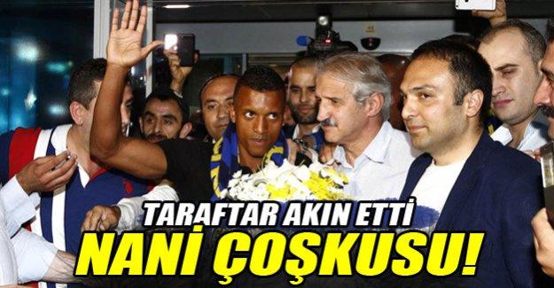 Fenerbahçe'de Nani çoşkusu!