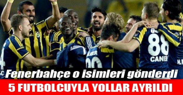 Fenerbahçe o isimlerle yollarını ayırdı