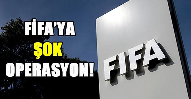 Fifa'da gözaltı operasyonu!