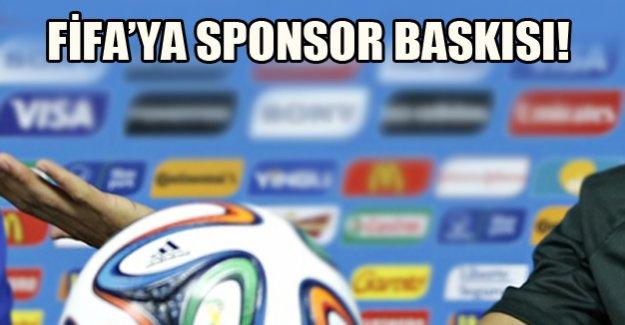 FİFA'ya sponsor baskısı!