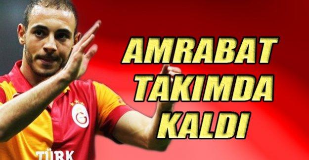 Flaş...Amrabat Galatasaray'da kaldı!