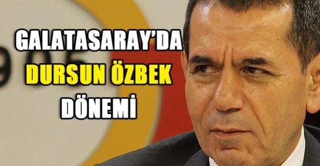 Galatasaray'da Özbek Dönemi!