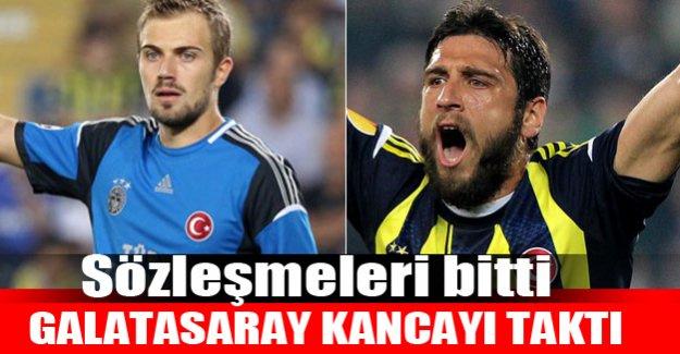 Galatasaray iki Fenerliye kanca attı