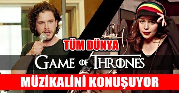 Game of Thrones  Oyuncularından Büyük Jest