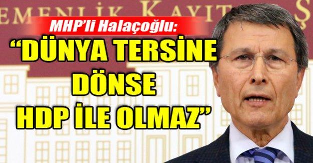 Halaçoğlu:
