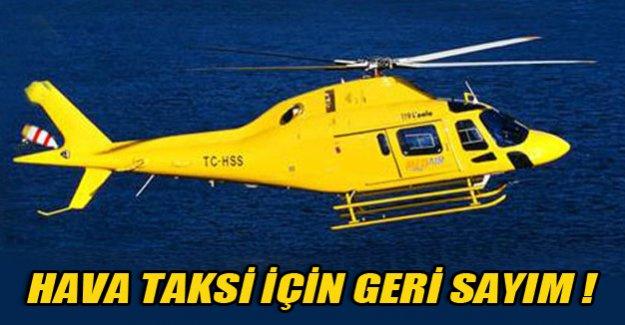 Hava taksi geliyor!