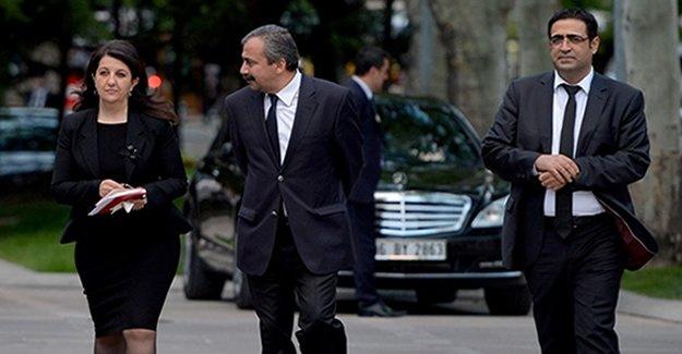 HDP heyeti Kandilli'de