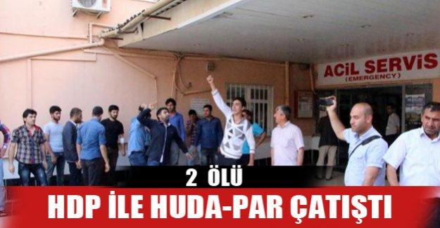 HDP HUDA-PAR çatışmasında kan döküldü