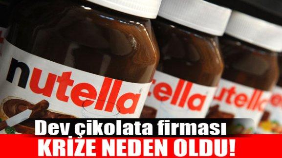 İki ülke arasında Nutella krizi!