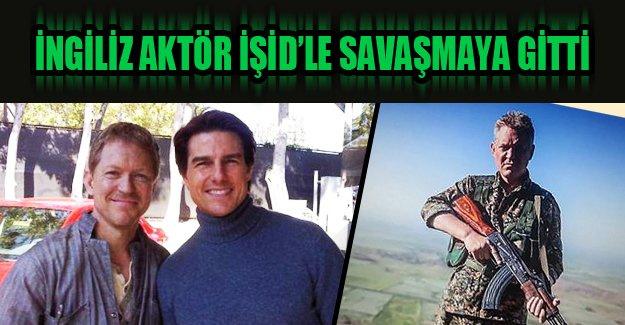 İngiliz aktör Işid'le savaşmak için Kobani'ye gitti