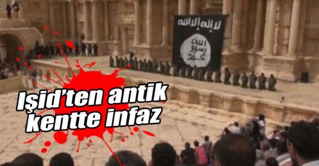 Işid 25 kişiyi antik kentte infaz etti