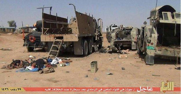 IŞİD 8. Tümeni'de işgal etti!