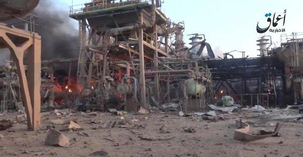 IŞİD Beyci rafinerisi saldırısına devam ediyor!