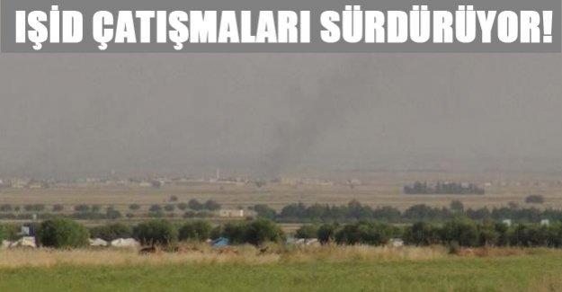 IŞİD çatışmaları sürdüyor