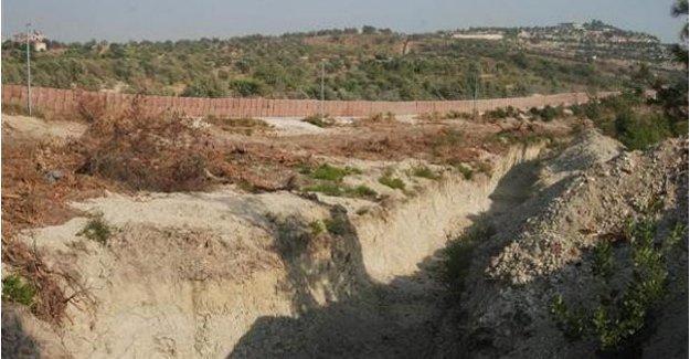 IŞİD'e karşı duvar örülüyor