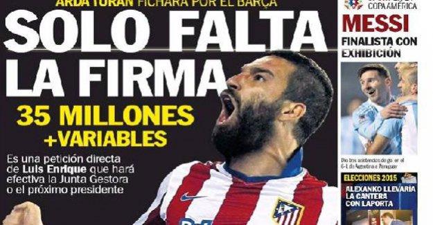 İspanya'da manşetlerde!