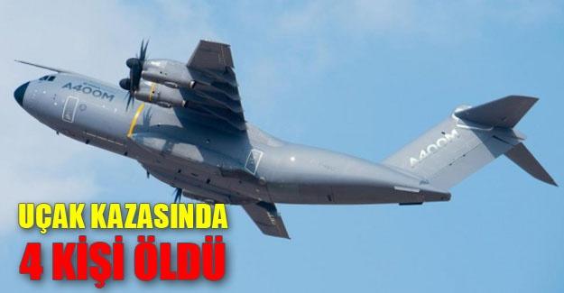 İspanya'da Uçak Kazası
