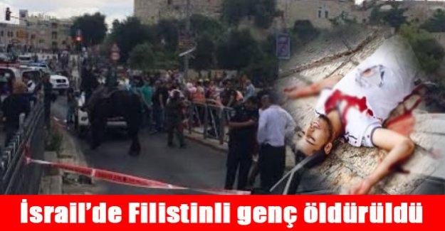 İsrail askeri filistinli genci öldürdü!