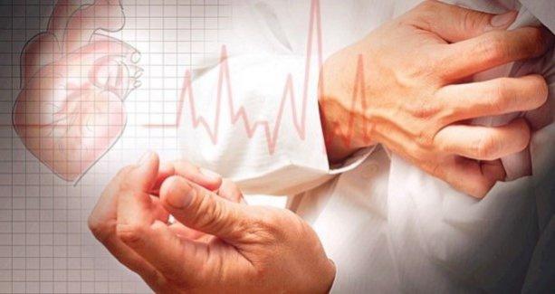 Kalp krizi riski el sıkma gücüyle paralel