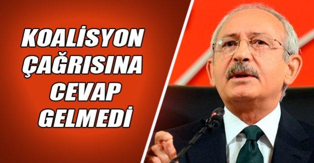 Kılıçdaroğlu: Bahçeli'den cevap gelmedi