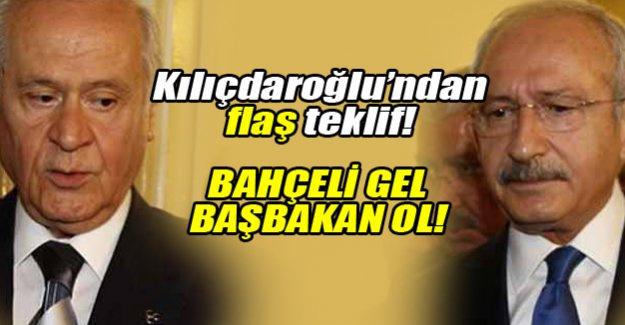 Kılıçdaroğlu'dan Bahçeli'ye koalisyon önerisi