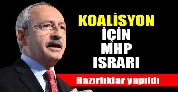 Kılıçdaroğlu koalisyon için MHP'nin kapısını çalacak