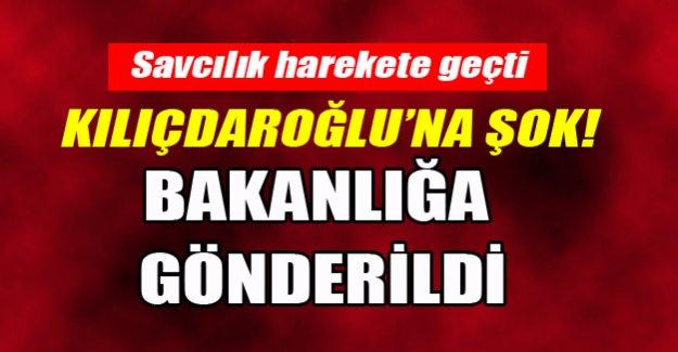 Kılıçdaroğlu'na şok! Fezleke bakanlığa gönderildi!