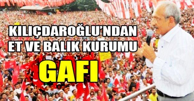Kılıçdaroğlu'ndan bir gaf daha!