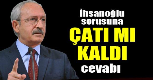 Kılıçdaroğlu'ndan İhsanoğlu açıklaması