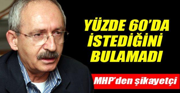Kılıçdaroğlu yüzde 60'dan umutsuz!