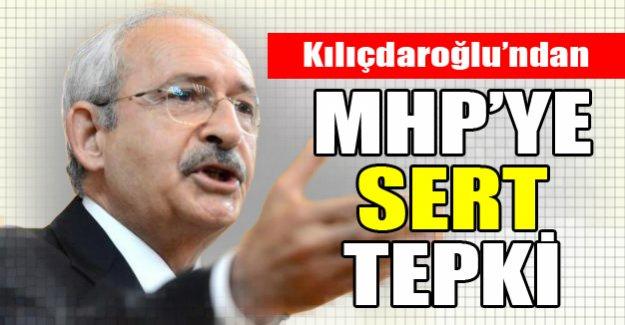 Kılıçdaroğlun'ndan MHP'ye sert tepki!