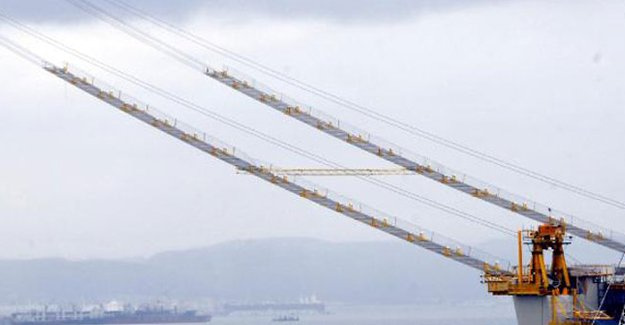 Körfez Köprüsü'nde halatlar koptu