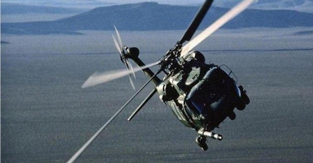 Kosova'da EULEX'e ait helikopter düştü