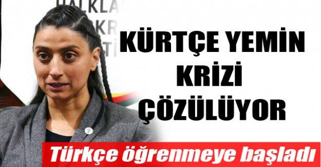 Kürtçe yemin krizi çözülüyor!