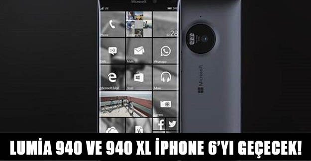 Lumia 940 ve 940 XL'nin fiyatı iPhone 6'yı geçecek