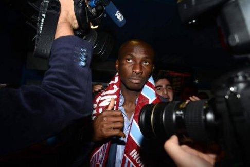 Mbia Trabzon'a geldi!