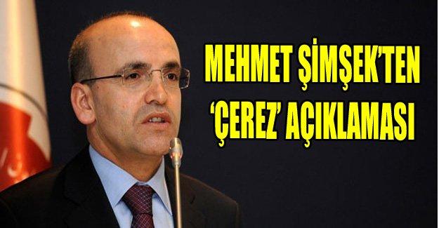 Mehmet Şimşek'ten çerez açıklaması