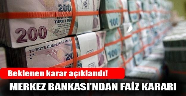 Merkez Bankası beklenen kararı açıkladı!