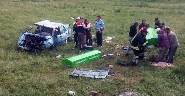 Mezuniyet töreni yolunda acı kaza!
