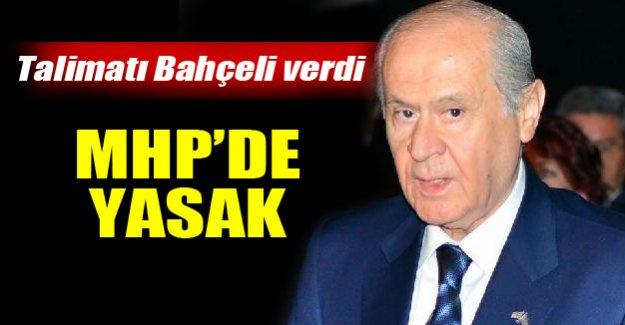 MHP'de örgüte 'koalisyon konusunda konuşma yasağı