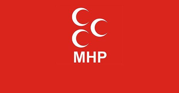 MHP'den çok sert tweet!