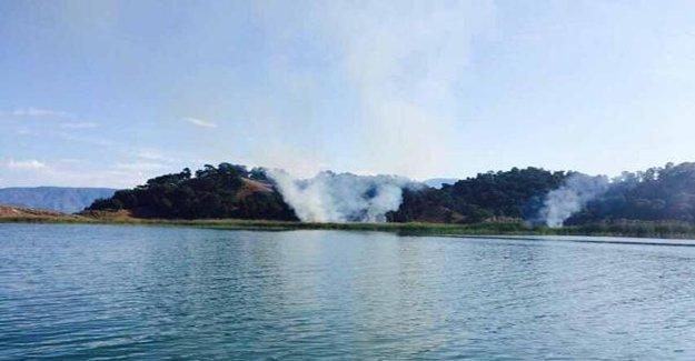 Muğla'da 1 hektarlık alan yok oldu!