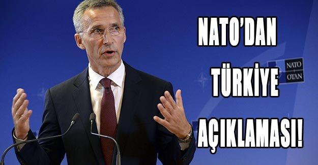 NATO'dan Türkiye açıklaması!