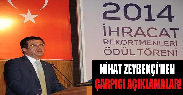 Nihat Zeybekçi'den çarpıcı açıklamalar